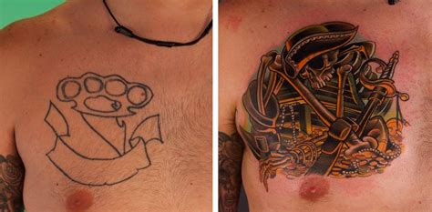 tattoo nightmares vs bad ink creative before and after tattoos transform bad body art