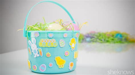 diy easter basket adorable homemade easter baskets you can diy in a snap
