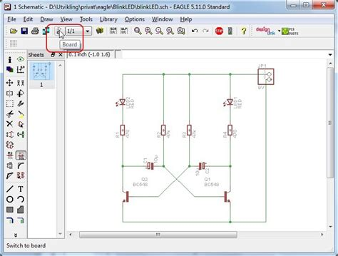 update layout in eagle pcb design tutorial for eagle build electronic circuits