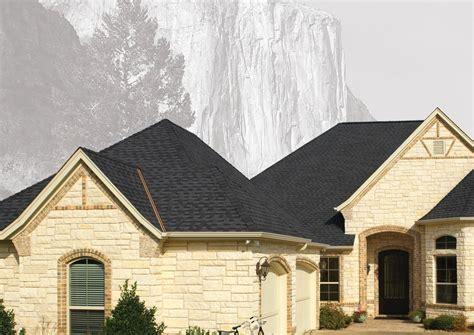 gaf gray black roofing shingles