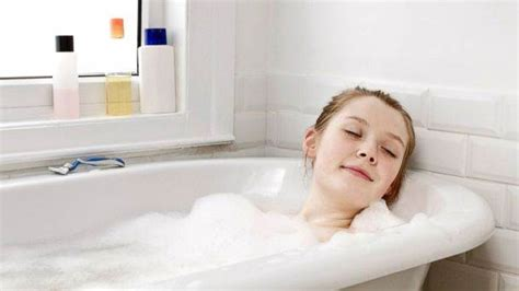 one girl one bathtub tips to help teenager sleep