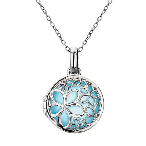 pendants for jewelry diamonds precious moments paradise small locket silver