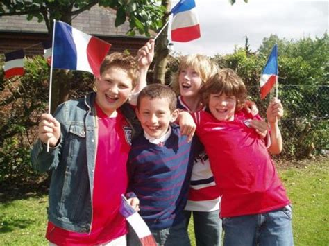 child in french most french parents do not think education is a big deal