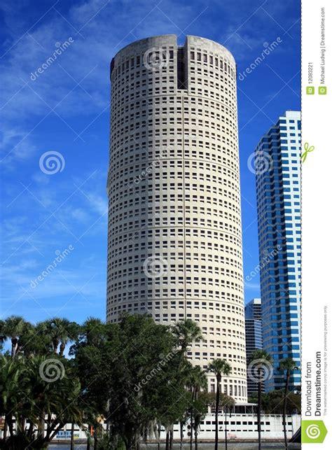 tampa  high rise stock image image