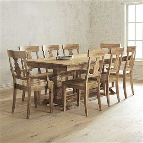 pier one dining room furniture bradding stonewash 9 dining set with