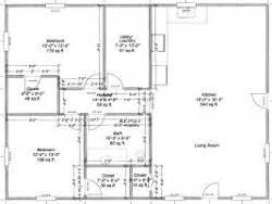 30 X 40 Floor Plans Pics Photos 30 X 40 Pole Barn Floor Plans Free House