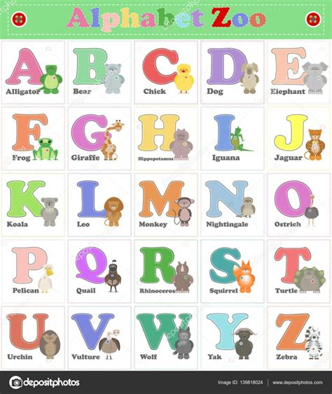 imagenes de zoologico en ingles abecedario zool 243 gico animales de peluche divertidos