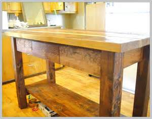 Kitchen Islands With Posts Rustic Kitchen Island Designs Home Design Ideas