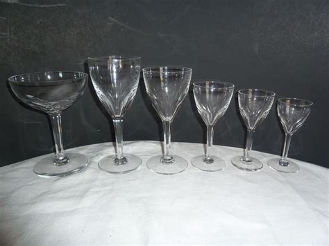 vintage chagne glasses fine crystal barware 28 images fine waterford stemware
