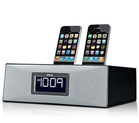 q iphone dock iphone clock radio ip88 from ihome