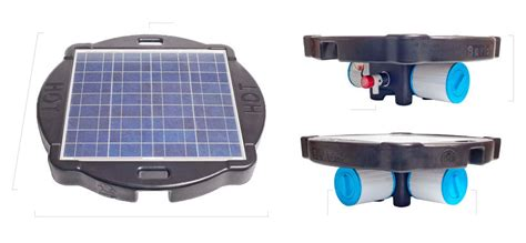 Lu Industri Clear Energy 60w clean energy cr solar pool and filter system