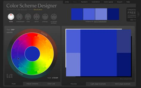 color scheme designer 3 5 nejlep紂 237 ch webov 253 ch n 225 stroj絲 a aplikac 237 pro barevn 253