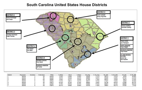 cofc cus map board of trustees congressional districts college of
