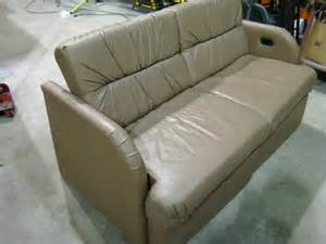 Rv Jackknife Sofa Replacement by Rv Parts Used Rv Furniture For Sale Leather Sofa