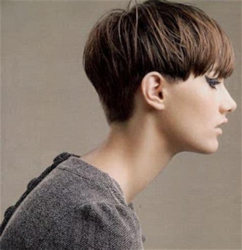 cortes pelo corto flequillo la moda en tu cabello cortes de pelo corto con flequillo