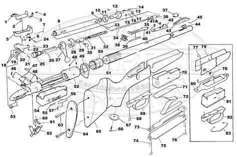 savage model 110 parts diagram 110 parts list accessories numrich gun parts