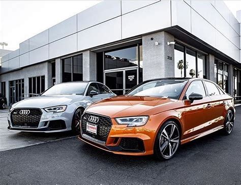 Walters Audi by Rs3 Audiexclusive Colors Aviatorgrey Or Samoaorange