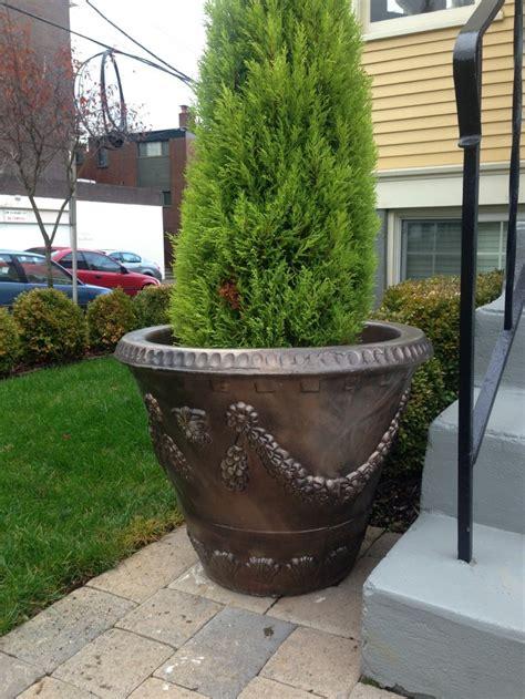 Decorative Planters by Pots Pottery And Planters Concrete Decorative Pots