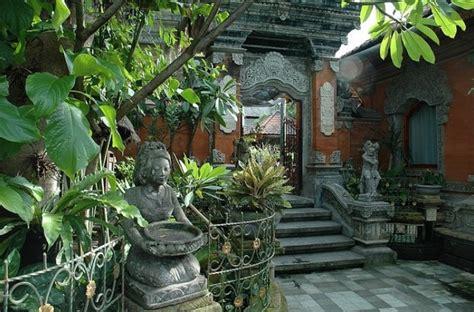 desain gapura bali desain taman rumah gaya bali yang eksotis rumah