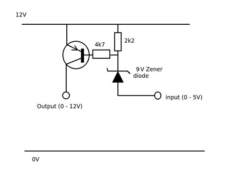 transistor pnp 5v switches switching 12v with an active low 5v signal electrical engineering stack exchange