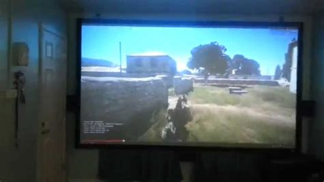 gaming home theater pspc optoma hd youtube
