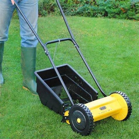 classic hand lawn mower lawn care garden equipment