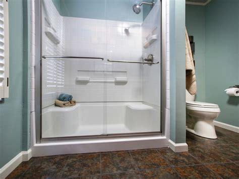 walk in shower to replace bathtub run my renovation a master bathroom designed by you diy