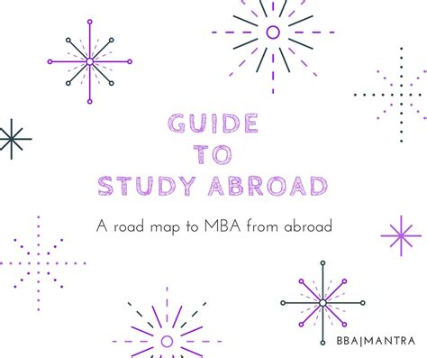 In Abroad For Mba Marketing by Study Abroad Mba Bba Mantra