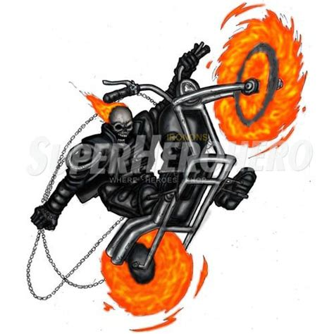 Ghost Bike Aufkleber by Buy Ghost Rider Iron On Transfers Heat Transfers Or