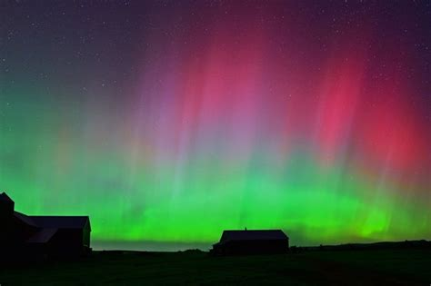 northern lights borealis in uk where to see them