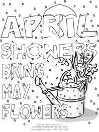 april showers coloring pages coloring pages giggletimetoys