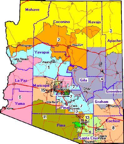 arizona house of representatives arizona district map arizona map