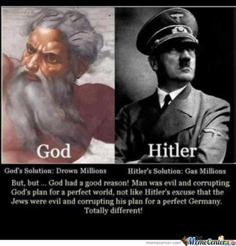 Meme God - scumbag god and scumbag hitler by shadowgun meme center