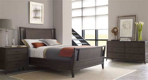 hudson bedroom collection hudson tobacco panel bedroom set from brownstone hd005