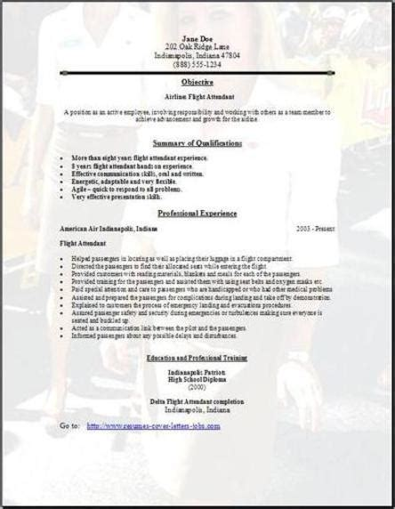 Airline Resume Format by Airlines Resume Occupational Exles Sles Free Edit