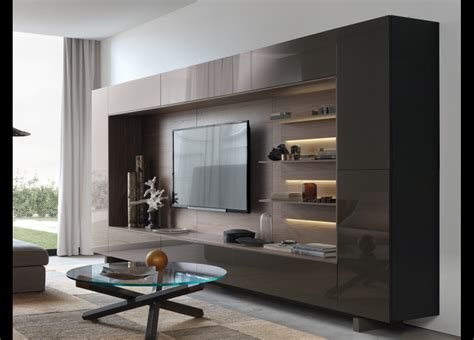 Tall Bedside Cabinets jesse open wall unit 13 italian wall units at go modern