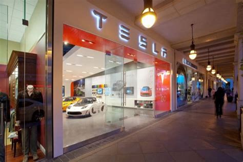 Tesla Motors Store New Tesla Motors Store Luxury Topics Luxury Portal