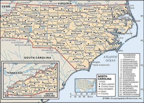 map of carolina with county names state and county maps of carolina