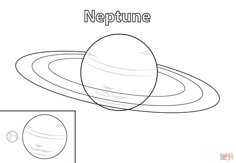 neptune planet coloring pages pics about space