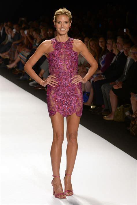2015 heidi klum heidi klum project runway spring 2015 fashion show in