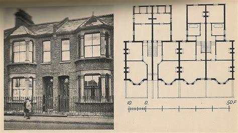 changing layout of terraced house a vintage 4plex plan borderline properties pinterest