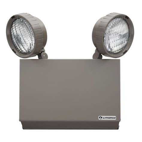 Emergency Light Fixtures Lithonia Emergency Lighting Iron