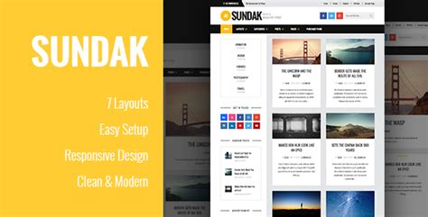 blogger magazine themes 2015 sundak blog and magazine wordpress theme wpfriendship
