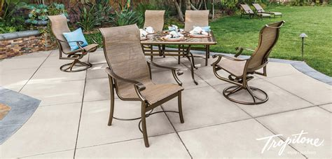 tropitone patio chairs patio furniture outdoor patio furniture sets