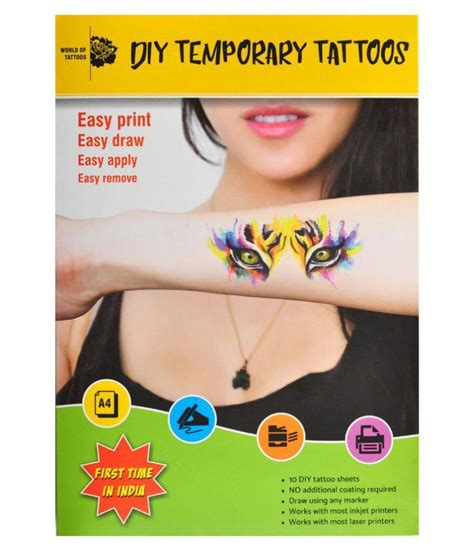 diy tattoo printer paper diy temporary tattoo paper best diy do it your self
