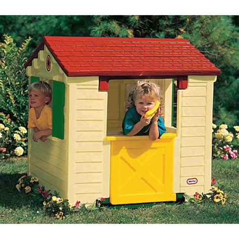 tikes green roof playhouse pin by b on toys