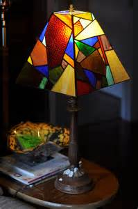 stained glass lamp shade springhouse