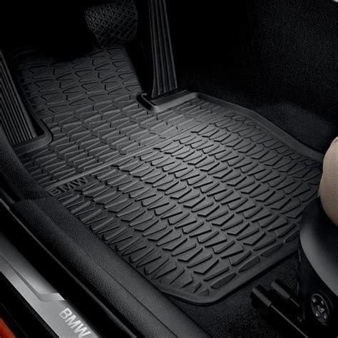 All Weather Rubber Floor Mats by Shopbmwusa Bmw All Weather Rubber Floor Mats