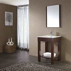 24 quot loft bathroom vanity walnut bathroom