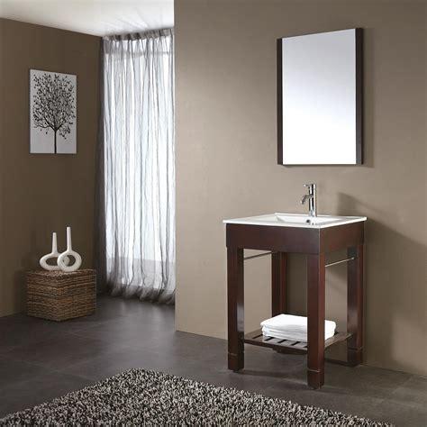"24"" LOFT Bathroom Vanity (Dark Walnut) :: Bathroom"